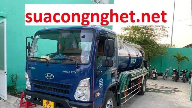 Báo giá thợ thông tắc cống tại Bắc Giang